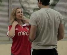 E se de repente um jogador do Benfica lhe pedisse para trocar de camisola? (vídeo)