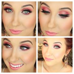 Jaclyn Hill - Rose Sparkle Spring 2014 (click on picture for link to YouTube).