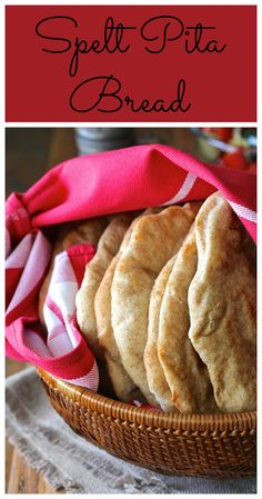 This spelt pita bread, made with a mixture of whole grain spelt and all purpose spelt, is so much fun to bake.