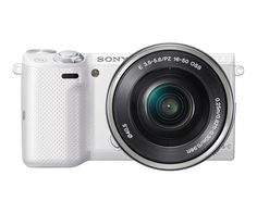 Perfect gift for mom, and now on sale. NEX-5T Mirrorless Camera w/ 16-50mm lens.