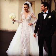 Stephanie Golman-Jandegian Wedding Dress By Australian Designer Steven Khalil