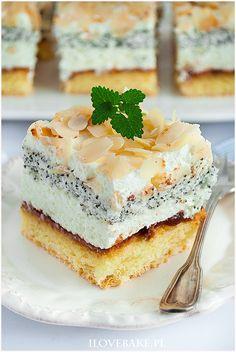 Ciasto tortowe z makiem - I Love Bake