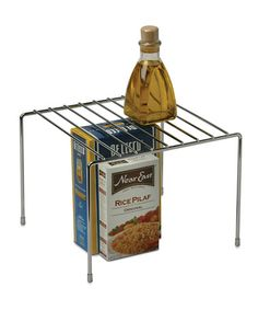 Take a look at this Silver 10'' Pantry Shelf by Organize It All on #zulily today!