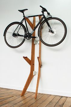 'Branchline' bicycle rack, by Quarterre