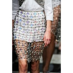 Prada Spring 2010 Chandelier Overlay Skirt media gallery on Coolspotters. See photos, videos, and links of Prada Spring 2010 Chandelier Overlay Skirt. Couture Details, Fashion Details, Diy Fashion, Runway Fashion, Fashion Show, Fashion Outfits, Womens Fashion, Fashion Design, Grunge