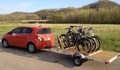 bicycle rack for trailer - Recherche Google