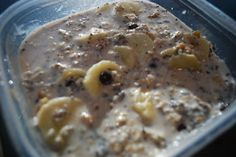 Just Keep Sweating: Chunky Monkey Overnight Oats!
