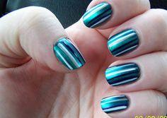 Simple Stripes by NailsMagazine - Nail Art Gallery nailartgallery.nailsmag.com by Nails Magazine www.nailsmag.com #nailart