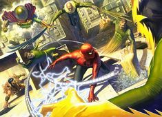 The Sinister Six (2016): Action - Superhero (Marvel) // Six of mankind's greatest enemies form an alliance to destroy New York City and Spider-Man.