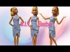 Barbie Et Ken, Barbie Top, Barbie Dolls Diy, Barbie Dress, Sewing Barbie Clothes, Barbie Sewing Patterns, Clothing Patterns, Doll Clothes, Poppy Parker