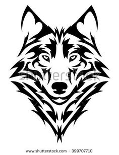 Vector wolf& head as a design ele.Vector wolf& head as a design element on isolated bac… Beautiful wolf tattoo.Vector wolf& head as a design element on isolated background - Tribal Wolf Tattoos, Maori Tattoos, Body Art Tattoos, Sleeve Tattoos, Tattoo Wolf, Celtic Wolf Tattoo, Wing Tattoos, Celtic Tattoos, Tattoo Arm