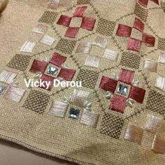Bargello, Hgtv, Handicraft, Needlepoint, Needlework, Cross Stitch, Knitting, Holiday Decor, Fabric