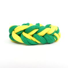 Support #Brazil wearing this green and yellow bracelet during the #WorldCup2014! Watch the games on TV, go to Rio de Janeiro, or just go to the beach! Wear Brazil´s colors on your wrist!  World cup 2014 pulseira copa do mundo by COLOROGY, €10.00