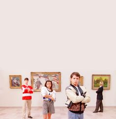 Ferris Bueller. i still remember the first time i saw this movie.