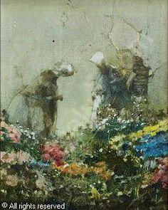 DUDA-GRACZ Jerzy - Painting 975 (DUTCH), 1985