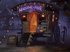 Gypsy:  Madame Fate's #Gypsy Wagon.