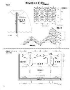 Maravilhas do Crochê: Pelerines de Crochê_Modelo Japonês