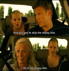 Letters to Juliet - life is the messy bits