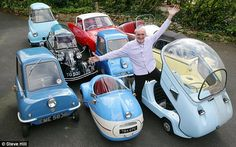Dinky cars: Andy Carter with some of his classics