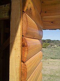 Timber Frame Cabin, Timber Logs, Diy Log Cabin, Log Cabin Homes, Best Tiny House, Tiny House Cabin, Luxury Horse Barns, Cabin Plans With Loft, Building A Cabin