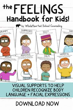 Emotional Child, Mental And Emotional Health, Social Emotional Learning, Social Skills, Teaching Emotions, Feelings And Emotions, Counseling Activities, Activities For Kids, Mindful Classroom