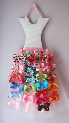 The perfect solution for all of those bows that end up everywhere!