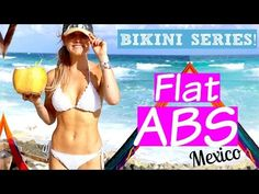 How to Get Ripped Abs with Weights | Rebecca Louise - YouTube