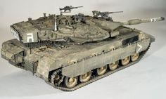 Merkava Mk. 3D 1/35 Scale Model