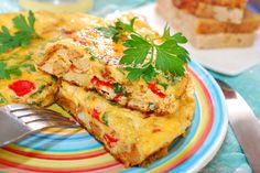 Frittata, strata, quiche...you have probably seen these terms thrown around in cooking magazines, but what is the difference between each of these dishes?