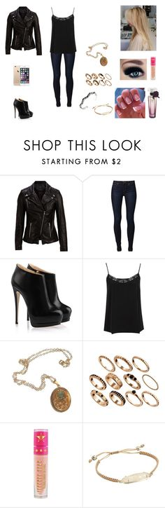 """""""The Hale Twins #29"""" by jazmine-bowman ❤ liked on Polyvore featuring SELECTED, Joe's Jeans, Giuseppe Zanotti, Miss Selfridge, Cullen, ASOS, Jeffree Star and Kendra Scott"""