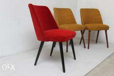 ODNOWIONY! Fotel z lat 50 60 70 retro design vintage prl patyczak Piaseczno - image 1