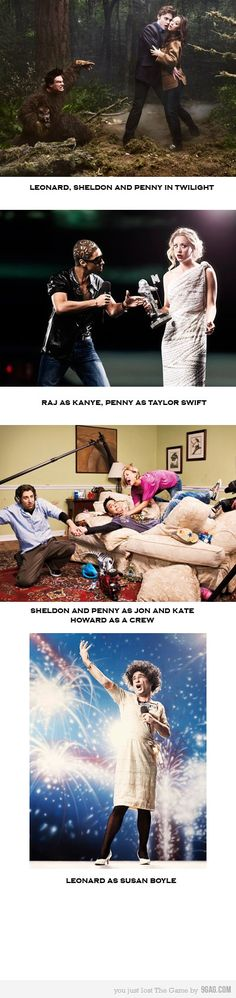 Big Bang Theory Silliness... This is absolutely wonderful!