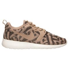 differently a1937 bc93d Ha Nike Roshe One Knit Jacquard Scarpe Casual Per Le Donne Di Colore Beige  - 56.57