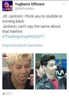 #ThanksGivingWithGOT7