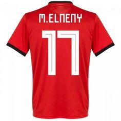 3dee639a8 2018 World Cup Jersey Egypt Home Elnenny Replica Red Shirt 2018 World Cup  Jersey Egypt Home Elnenny Replica Red Shirt