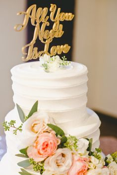 'All you need is love': http://www.stylemepretty.com/little-black-book-blog/2015/02/24/whimsical-romantic-wente-vineyards-wedding/ | Photography: Onelove - http://www.onelove-photo.com/