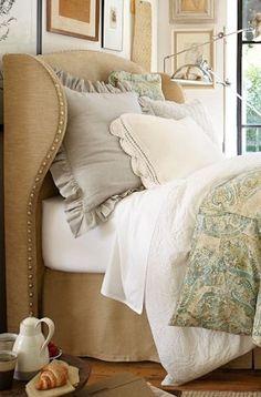 DIY or Buy: Upholstered Headboard