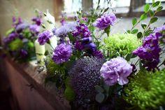 Church flowers :  wedding Window Sill Church Flowers