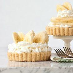 Gluten Free Banana Caramel Pudding Pies and Tarts!
