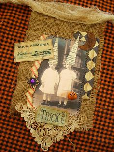 Halloween Banner by ltl blonde, via Flickr