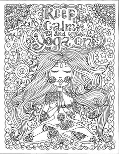 Free Fantasy Coloring Pages For Grown Ups