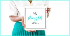 Your strengths will help you find flow and zing in your biz.