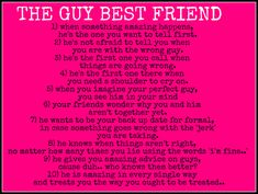 "Yes this is really cute & sweet, but because it says ""best friend"", the poor guy sounds friendzoned to me :/"