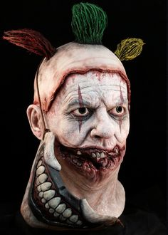 American Horror Story Twisty the Clown mask with removable mouthpiece.