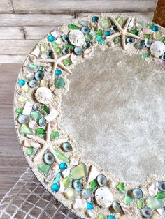 Beach House Decor Coastal Beach Plate by ThePaintedPearlSRQ