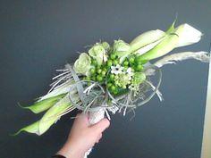 bruidsboeket - lang wit assymmetrisch falenopsis boechout