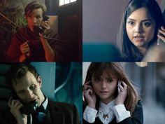 I didn't realize that the Doctor and Clara's relationship both began and ended with a phone call. Sherlock Doctor Who, Clara Oswald, Don't Blink, Eleventh Doctor, Jenna Coleman, Torchwood, Geronimo, Matt Smith, David Tennant