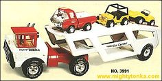 1975 Mighty Car Carrier #3991