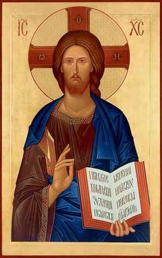 ... Byzantine Icons, Byzantine Art, Religious Icons, Religious Art, Anima Christi, Christ Pantocrator, Religion, Jesus Face, Russian Icons