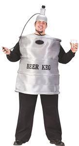 Beer Keg Plug Size Adult Mens Costume - 115043 | trendyhalloween.com #oktoberfest #funnycostumes #keg #menscostumes #plussizecostumes